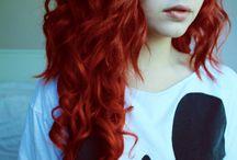 Rood haar
