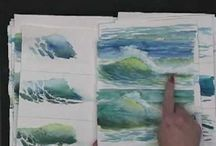 painting water