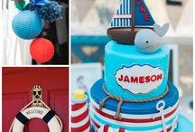 Fiesta tematica Nene: Nautica / En este tablero vas a encontrar ideas inspiradoras de fiestas temáticas para Nene. Encontrá proveedores que te ayuden a recrear estas ideas en Eventalia para que tu fiesta sea un éxito!