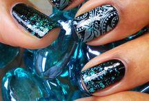 IDEAS PARA PINTARSE LAS UÑAS / Imagenes e ideas para la decoración de uñas.