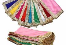 Nine colours nine chunris for navratri online | VedicVaani.com