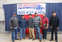 Students of Roadmaster Drivers School / To become a CDL professional truck driver, call Roadmaster at 1-800-831-1300 or visit