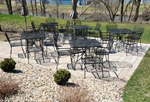 Outdoor Dining / Enjoy a meal in our beautiful dining areas or on the deck or patio as weather permits. We have live entertainment most every Saturday evening.The Cafe is a great venue for baby showers, bridal showers, bridal luncheons, rehearsal dinners, and small weddings.