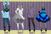Anime Outfits girl and boys