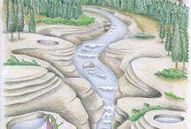 Dráček Drápek a Království ohně / ilustrace dětské knihy, childbook illustration; drak; dragon
