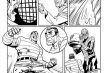 Spiderman: Tower of Power / I did a bunch of Spiderman strips for this Eaglemoss part-work magazine