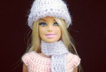 Barbie crochet dresses