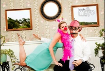 Outer Banks Wedding -Photo Booth by Brooke Mayo Photographers / Brooke Mayo Photographers photobooth www.brookemayo.com
