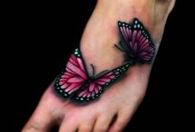 Ankle tattoo / Tattoo