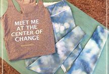 Yoga cloths that capturing your intentions