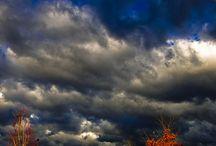 Clouwdy sky's
