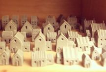 DIY: Christmas Miniature Village
