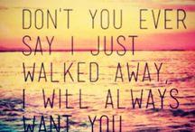favorite lyrics.songs :-)