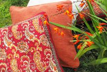 Paisley & Booti printed textiles / Classis Indian design that works so well in all shapes, colours and sizes.