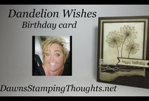 Dandelion Wishes Stampin Up