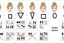 серьги для формы лица