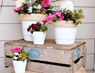 front porch ideas / by Missy Varney