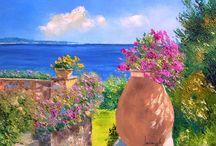 # P A I N T E R S / Знаменитые и современные художники. Лучшие и красивые картины, багеты и постеры.