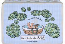 La chambre de bébé / Les objets illustrés par Valérie Nylin pour ranger les affaires de son bébé, selon qu'il soit né dans les roses ou dans les choux !
