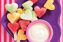 John Cline Snack Inspirations  / Snack ideas for families.