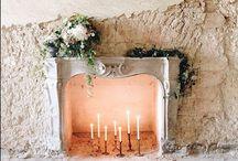 Wedding company studio / Details for decorations in Sandra Nicole's Design show room