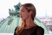 Cyrielle Debreuil / La comédienne Cyrielle Debreuil et le studio de répétition des étoiles la rotonde Zambelli - By Adrien Perreau.
