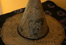 Witches Hat, Mad Hatter / Wicht Hat, Mad hatter, witch'accesories