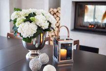 Blomster/ dekorasjoner/ Interiør