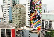 Arte Urbana / Arte nas selvas de pedra espalhadas pelo mundo!