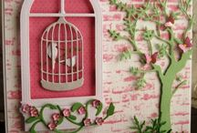 Card Making - Bird Cages
