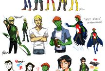 Young Justice/Teen Titans ~ Fandon