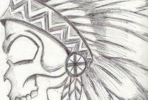 Dibujos del cráneo