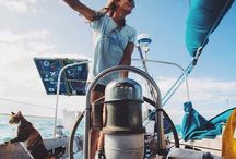 Sailing La Nomade / Sailing around the world - dreams and desires.