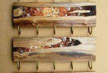 Holz mosaok