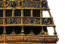 17th Century galleons