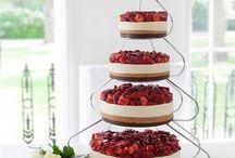 Inspiration {cheesecake wedding cake}