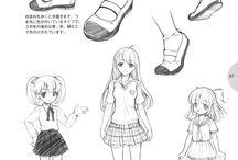 Anime rajzok