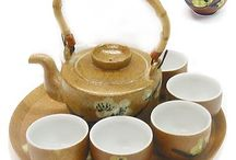 Asian Teapots and Tea Sets / From porcelain to ceramic, these teapots give something common and practical a unique look.