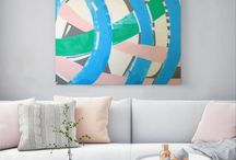 Joanna Stein - painting interiors / my painting in the interior