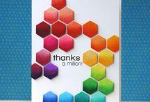 Hexagons, Hexagon cards