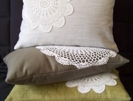 Cushion cover met crochet / Cushion cover met crochet