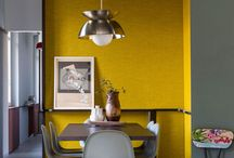 Yellow interior