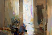 Interiors in Plein Air Paintings
