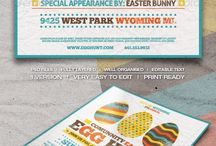 Agra easter event ideas / Easter 2017 crafts/posters/baskets