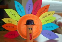 Thanksgiving / Thanksgiving craft ideas