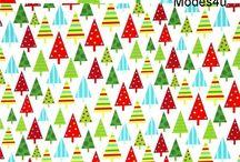 Christmas Fabrics 2017