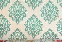 Damask Stencils & Decor / Regal damask patterns are in vogue again! Our stencils will help you to create one-of-a-kind gorgeous damask room! / by Cutting Edge Stencils