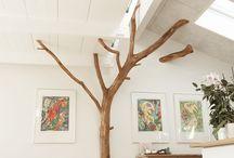 WOHNEN | Baum im Raum