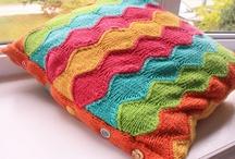 Crochet - Pillows / Crocheted pillows :)