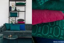 Green with Purple and Blue | Hinck / Green with Purple and Blue | Inspiration Interior | Photography | Styling | Hinck Amsterdam